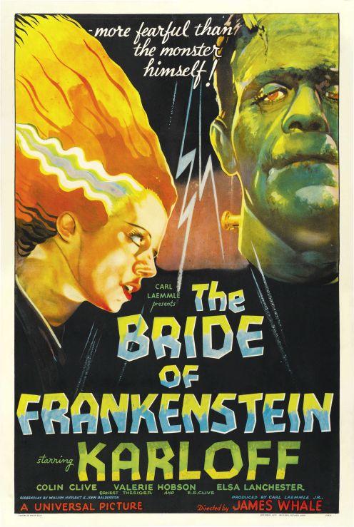 Poster - Bride of Frankenstein, The_01