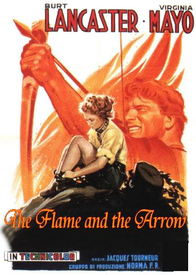 flame-and-the-arrow-italian-poster