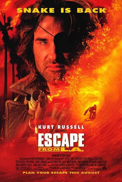 Escape from LA affiche