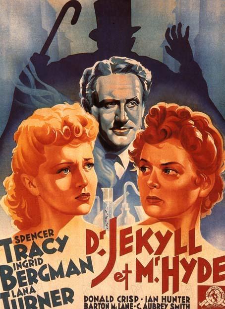 Docteur Jekyll et Mister Hyde 1941 real : Victor Flemming Spencer Tracy Ingrid Bergman Lana Turner COLLECTION CHRISTOPHEL