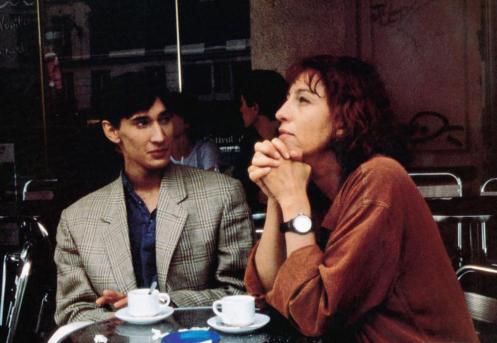 PAS TRES CATHOLIQUE, from left: Gregoire Colin, Anemone, 1994, © Productions du Jeme Etage